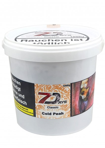 7Days Classic - Cold Peah - 1000g