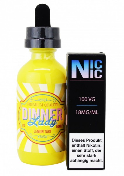 Dinner Lady - Lemon Tart - 60ml inkl. Nic-Shot