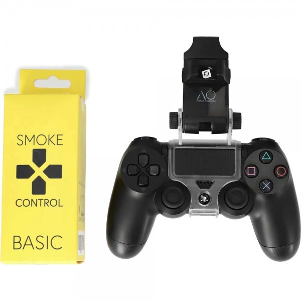 Smoke Control - Basic Schlauchhalter PS4 - Black