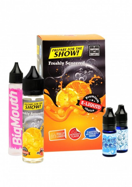 Big Mouth Liquid - Prepare for the show! : Freshly Squeezed - 50ml/0mg