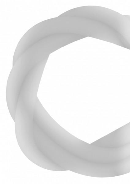 Silikonschlauch - Clear Frost - MATT
