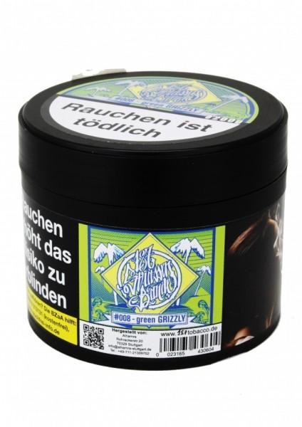 187 Strassen Bande Tabak - green GRIZZLY #008 - 200g