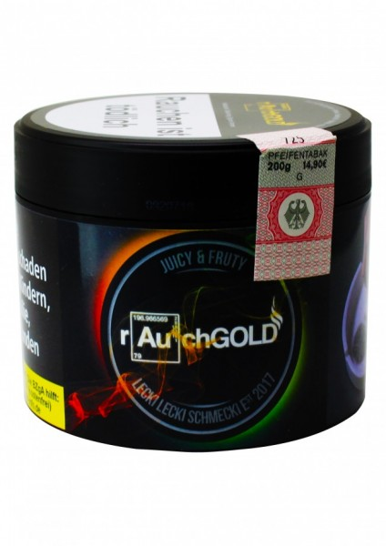rauchGOLD - Juicy & Fruity - 200g